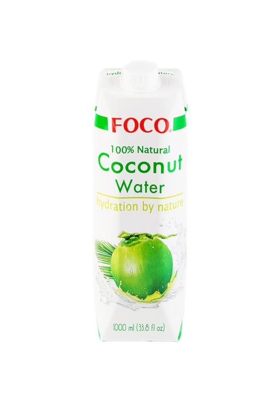 Кокосовая вода FOCO без сахара 1 л