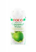 Кокосовая вода FOCO без сахара 330 мл