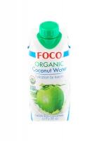 Органическая кокосовая вода FOCO 330 мл
