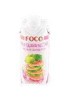 Нектар розовой гуавы FOCO 330 мл