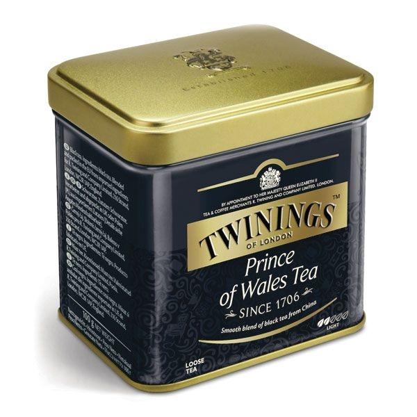 Чай Twinings черный листовой Принц Уэльский 100 гр