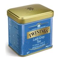 Чай Twinings черный листовой Леди Грей 100гр