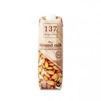 Миндальное молоко 137 Degrees с нектаром кокосовых соцветий без сахара 1 л