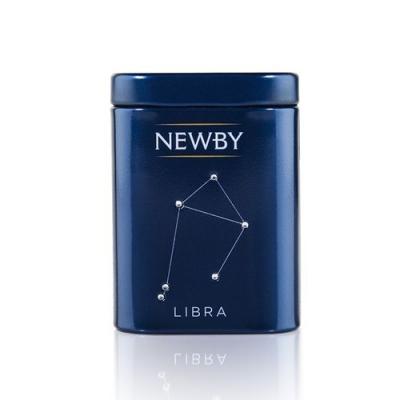 Чай Newby Zodiac Весы (Эрл Грей) черный листовой 25 гр