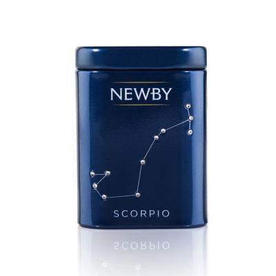 Чай Newby Zodiac Скорпион (Жасмин) зеленый листовой 25 гр
