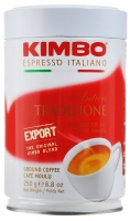 Кофе молотый Kimbo Export Antica Tradizione (Кимбо Экспорт) в банке 250 г