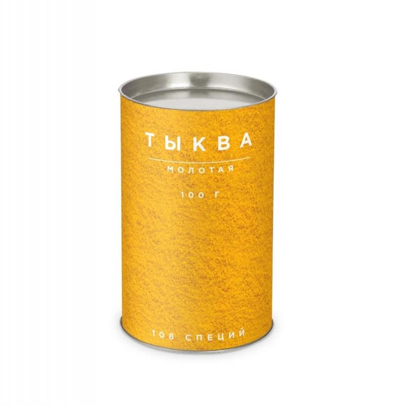 Мякоть тыквы сушеная молотая в тубусе 100 г