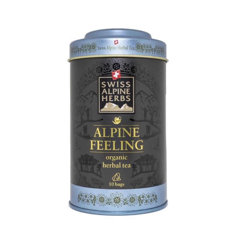 Травяной чай в пакетиках Swiss Alpine Herbs Альпийское настроение 10 шт х по 1 г