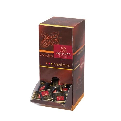 Шоколад горький Монбана горький в диспенсере (200 плиточек)