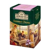 Чай Ахмад Летний Чабрец листовой черный 100гр