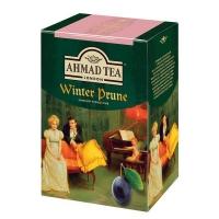 Чай Ахмад Зимний Чернослив листовой черный 250 гр