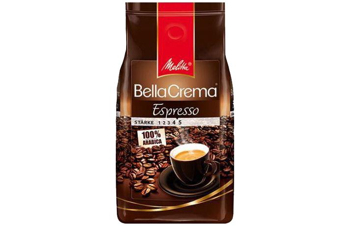 Кофе Melitta BellaCrema Espresso в зернах 1 кг