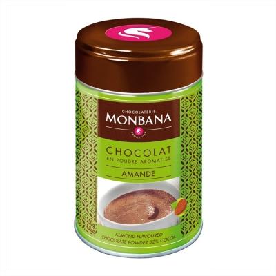 Горячий шоколад Monbana Миндаль 250 гр