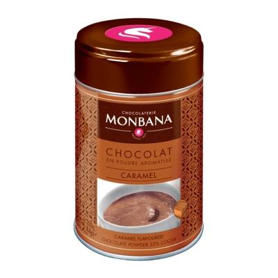 Горячий шоколад Monbana Карамель 250 гр