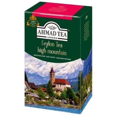 Чай Ахмад Цейлонский среднелистовой черный 200 гр
