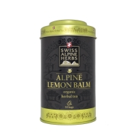 Травяной чай в пакетиках Swiss Alpine Herbs Мелисса лимонная 10шт х по 1 г