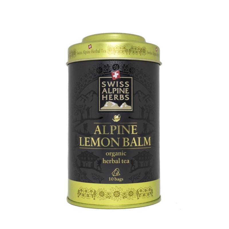 Травяной чай в пакетиках Swiss Alpine Herbs Мелисса лимонная 10 шт х по 1 г