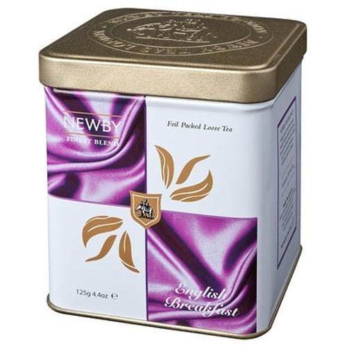 Чай Newby Английский Завтрак Классик черный листовой 125 гр