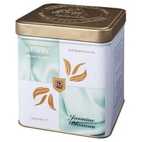 Чай Newby Цветок Жасмина Классик зеленый листовой 125гр