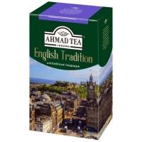 Чай Ахмад Английская традиция черный листовой 100гр