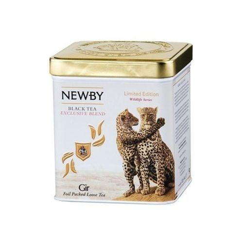 Чай Newby Гир Дикая Жизнь черный листовой 125 гр
