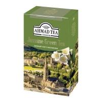 Чай Ахмад зеленый с Жасмином листовой 200 гр