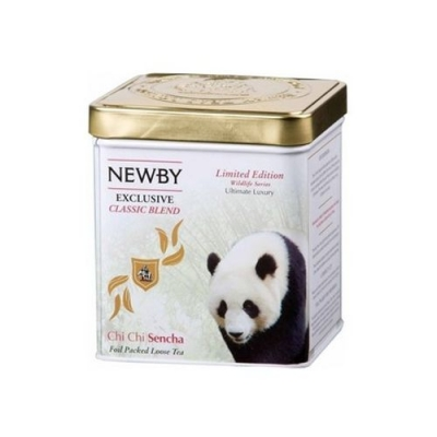 Чай Newby Чи Чи Сенча Дикая Жизнь зеленый листовой 125 гр