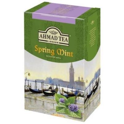 Чай Ахмад зеленый Весенняя мята листовой 75 гр