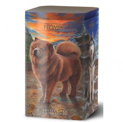 Праздничный чай Newby Год Собаки с миндалём 125 г
