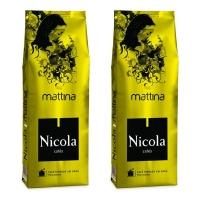 Кофе взернах Nicola Mattina 1+1кг (—50% на 2-ю упаковку)