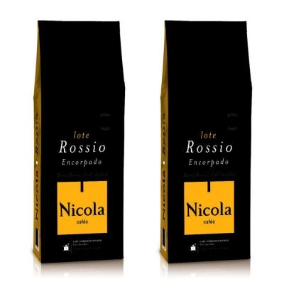 Кофе в зернах Nicola Rossio 1+1 кг (—50% на 2-ю упаковку)