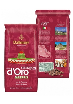 Кофе Dallmayr Mexiko Select зерновой 1 кг