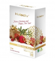 Чай черный Heladiv Golden Ceylon Christmas Pekoe листовой новогодний праздничный 100 г