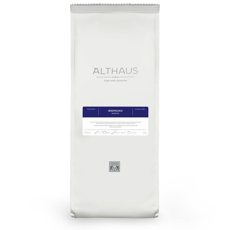 Чай Althaus Rheingold чёрный листовой 250 гр