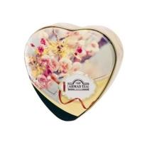 Чай Ахмад Благородный чабрец черный листовой (упаковка в форме маленького сердца) 30 гр