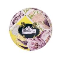 Чай Ахмад Весенняя мята зеленый листовой (круглая упаковка) 100гр в железной банке
