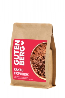 Какао-порошок Gutenberg 100% натуральный 200 г
