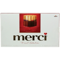 Шоколадный набор Storck Merci Ассорти 250 г
