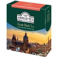 Чай Ахмад черный Классический в пакетиках 100 штук