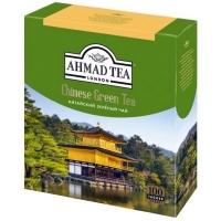 Ахмад чай зеленый Китайский в пакетиках 100штук