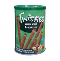 Вафли Haitoglou Twisties с кремом из лесного ореха и какао 400 г