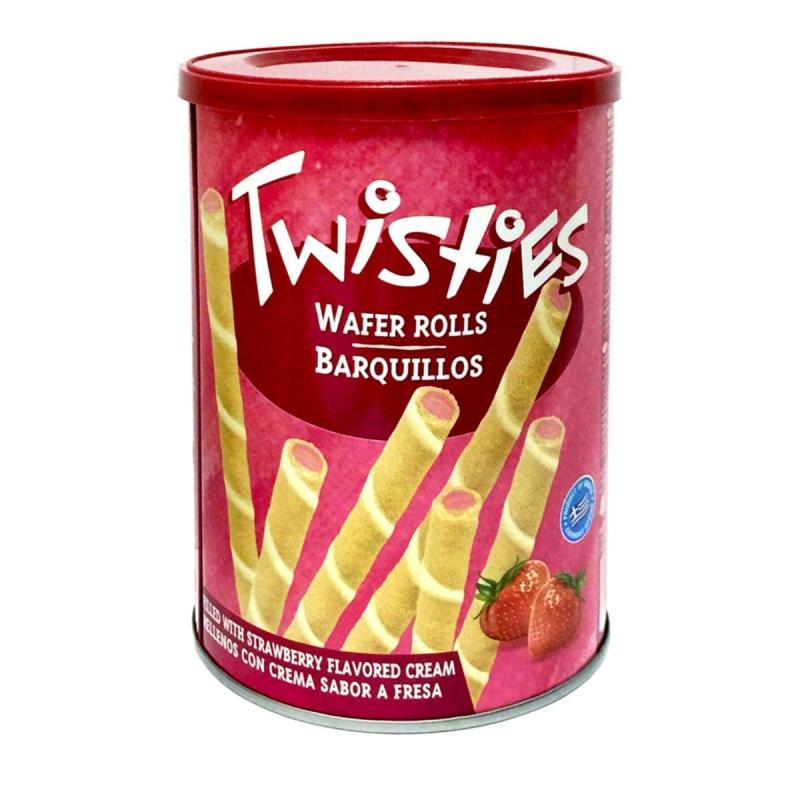 Вафли Twisties с клубничным кремом 400 г