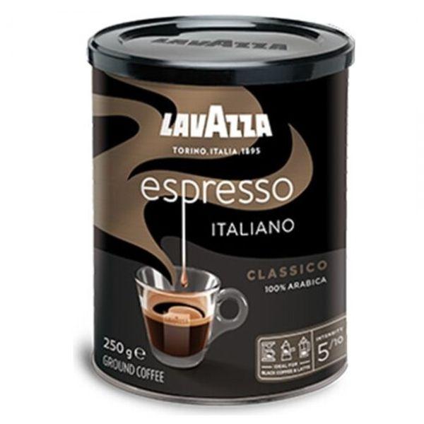 Кофе Lavazza Espresso молотый в банке 250 г