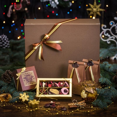 Чайный подарочный набор в шкатулке «Роскошь»