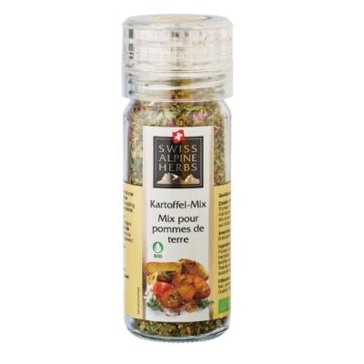 Смесь Swiss Alpine Herbs специй для блюд из картофеля 32 г мельница