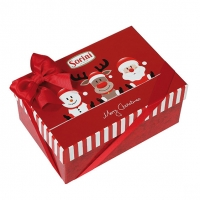 Конфеты Sorini Christmas в коробке красная или синяя 300 г