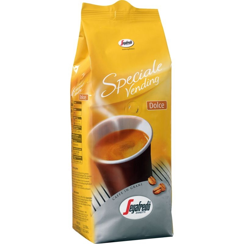 Кофе Segafredo Vending Dolce  в зернах 1 кг