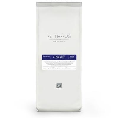 Чай Althaus Strawberry Cream Ameli чёрный листовой 250 гр