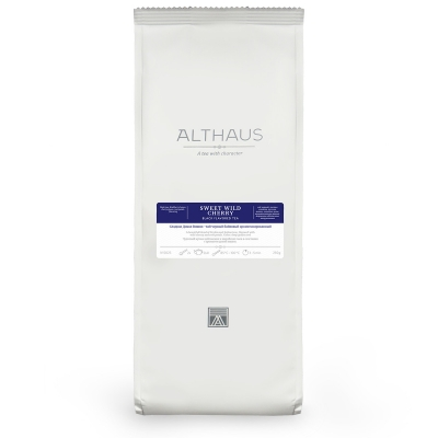 Чай Althaus Sweet Wild Cherry чёрный листовой 250 гр