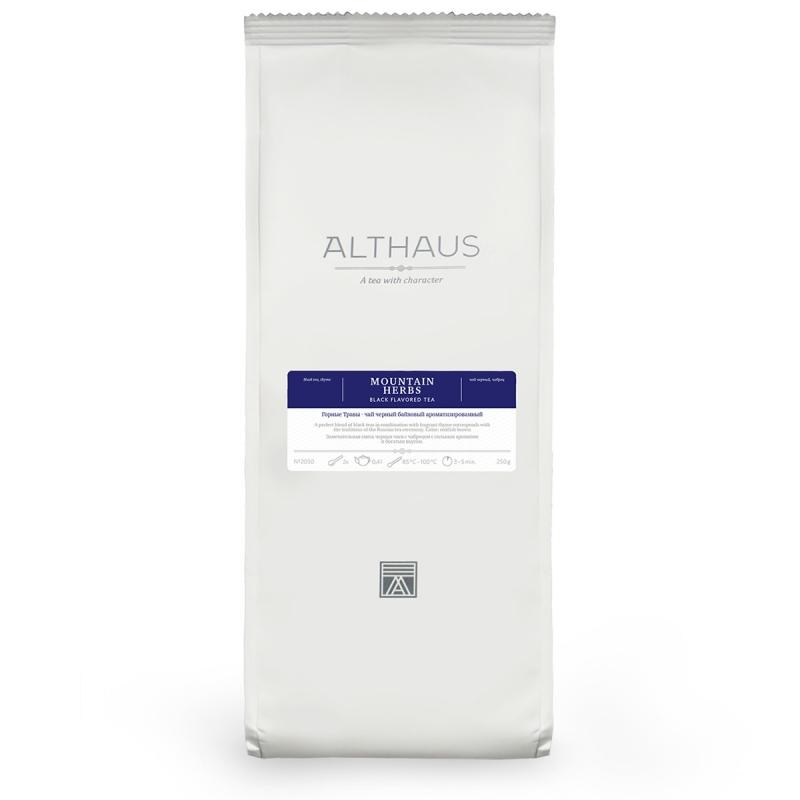 Чай Althaus Mountain Herbs чёрный листовой 250 гр